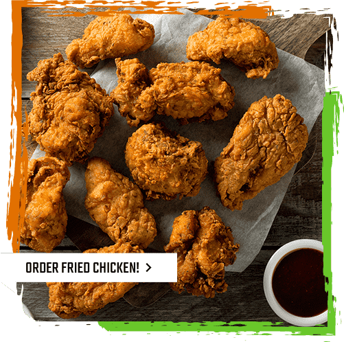 Try our Fried Chicken